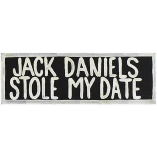 RAM Game Room Jack Daniels Stole My Date Textual Art
