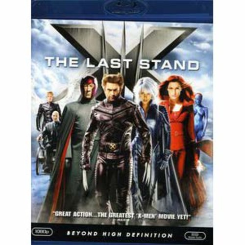 X3: X-Men - The Last Stand [Blu-ray] WSE DTS-ESD/DD5.1