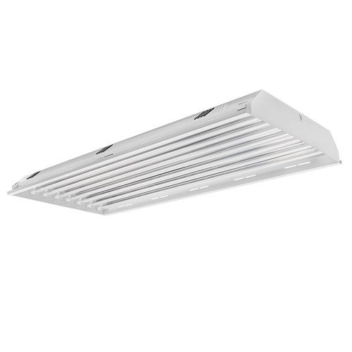 TOGGLED 4 ft. 8-Light LED White High Bay 5000K (LED Tubes Included)