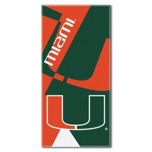 University of Miami Beach Towel