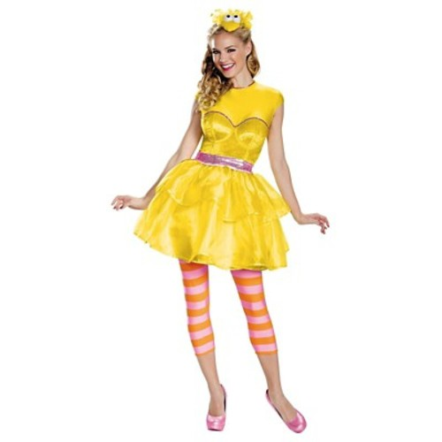 Sesame Street Big Bird Sweetheart Dress