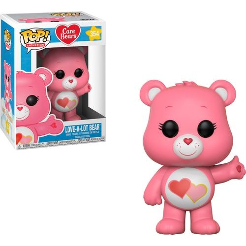 Funko - Pop! Animation Care Bears Love-A-Lot Bear