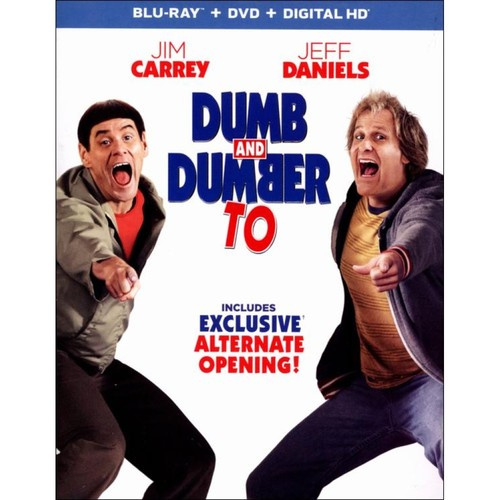 Dumb and Dumber To [2 Discs] [Includes Digital Copy] [Ultraviolet] [Blu-ray/DVD] [2014]