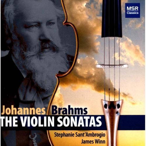 Brahms: The Violin Sonatas [CD]