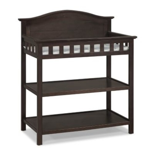 Thomasville Kids Southern Dunes Dressing Table with Changing Pad - Espresso