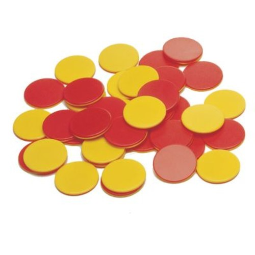 Learning Advantage Two Color Plastic Counters