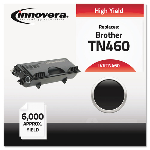 Innovera Remanufactured For TN460 High Yield Black Toner Cartridge