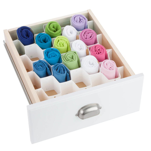 Honey-Can-Do SFT-01625 Drawer Organizer,...