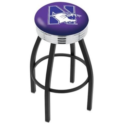 Holland Bar Stool 25'' Bar Stool; Northwestern
