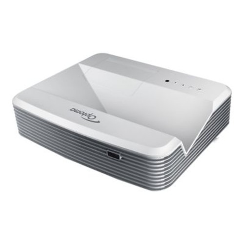 Optoma EH320UST Full HD 3D Ready DLP Projector, White/Gray