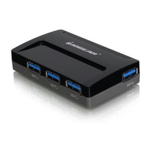 IOGEAR SuperSpeed USB 3.0 4-Port Hub (GUH374)