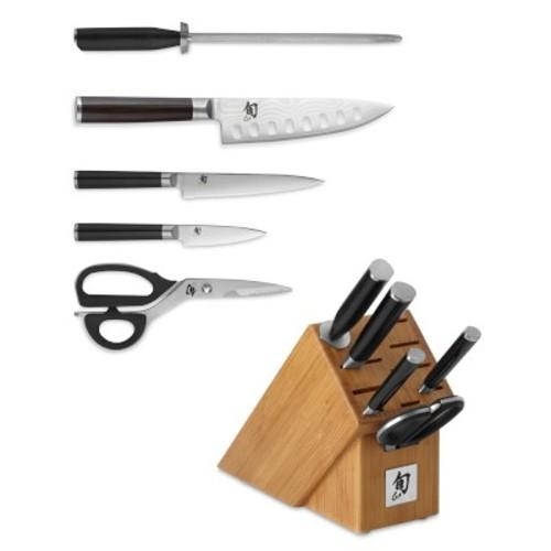 Shun Classic 6-Piece Knife Block Set