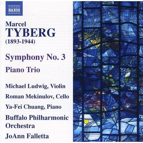 Marcel Tyberg: Symphony No. 3; Piano Trio [CD] [PA]
