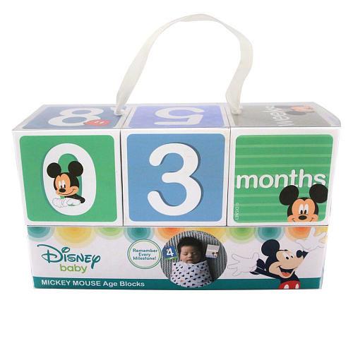 Disney Mickey Mouse Milestone Blocks