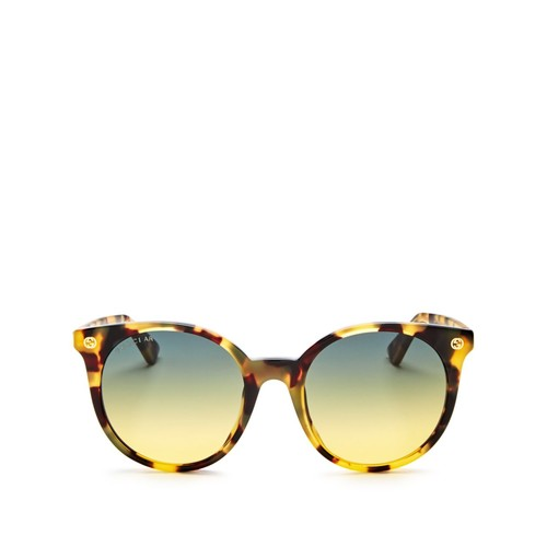 GUCCI Pantos Round Sunglasses, 52Mm
