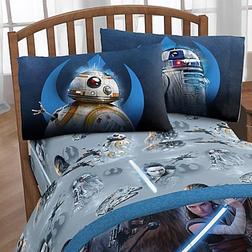 Star Wars Heroes Twin Sheet Set