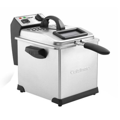 Cuisinart 3.4 qt Digital Deep Fryer, Silver (CDF-170)