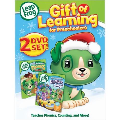 LeapFrog: Gift of Learning - For Preschoolers [2 Discs] [DVD]