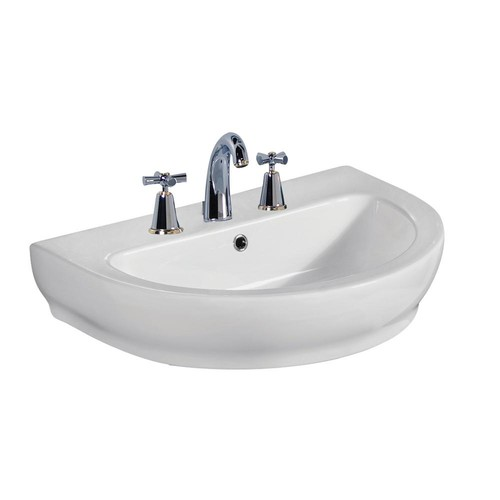 Barclay Products Harmony 800 31-1/2 in. Wall Hung Sink in White