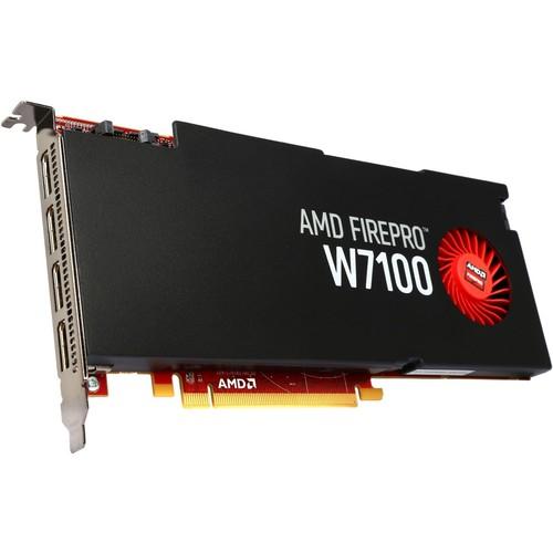 AMD FirePro W7100 100-505724 8GB 256-bit GDDR5 PCI Express 3.0 x16 Full height/full length single-slot Workstation Video Card
