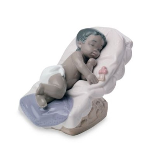 Nao Treasured Memories Dream Little Girl Porcelain African American Figurine