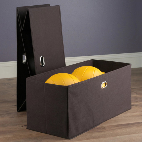 Winsome Torino Folding Storage Basket 2-piece Set