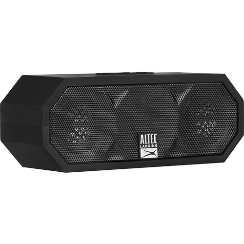 Altec Lansing - Jacket H2O Portable Bluetooth Speaker - Black