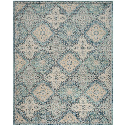 Safavieh Evoke Light Blue/Ivory 8 ft. x 10 ft. Area Rug
