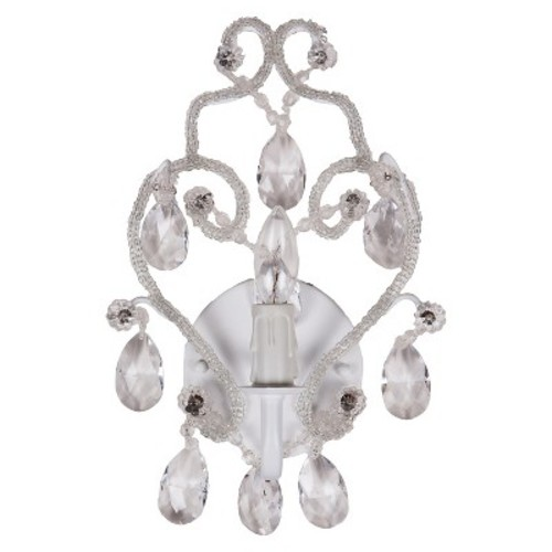 Tadpoles Chandelier Wall Sconce - White