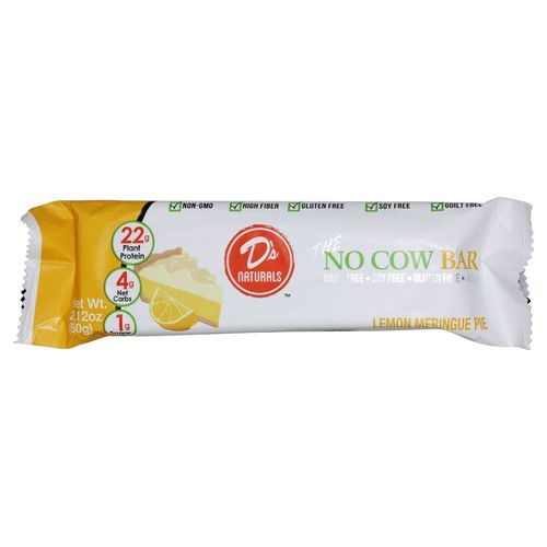D's Naturals - No Cow Bar Lemon Meringue Pie - 2.12 oz.