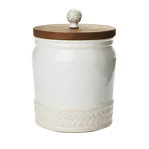 Le Panier Whitewash Canister, 7.5T