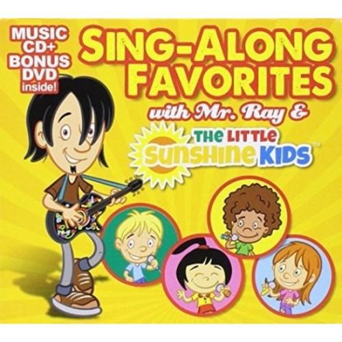 Sing-A-Long Favorites with Mr. Ray & The Little Sunshine Kids (Music CD + Bonus DVD)
