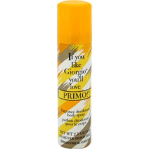Primo Fragrance Deodorant Spray