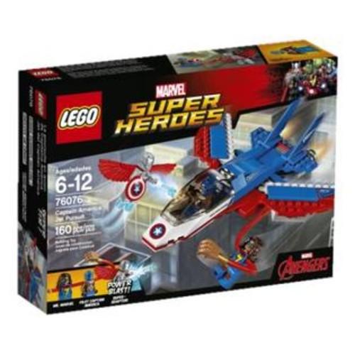 LEGO Captain America Jet Pursuit Marvel Super Heroes