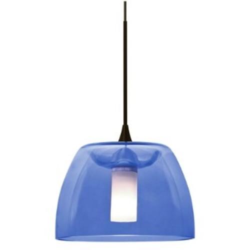 Spur Mini Pendant [Light Option : Halogen; Finish : Bronze; ||color : Blue]
