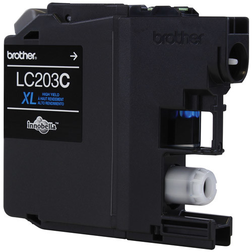 Brother LC203C Innobella High-Yield Ink, Cyan