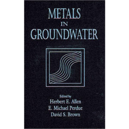 Metals in Groundwater / Edition 1