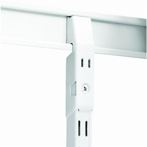 Knape & Vogt 82 Series Shelf Standard Mounting Bracket Hang Rail Link - 7982 WH
