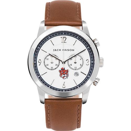 Jack Mason League NCAA Leather Chronograph Watch