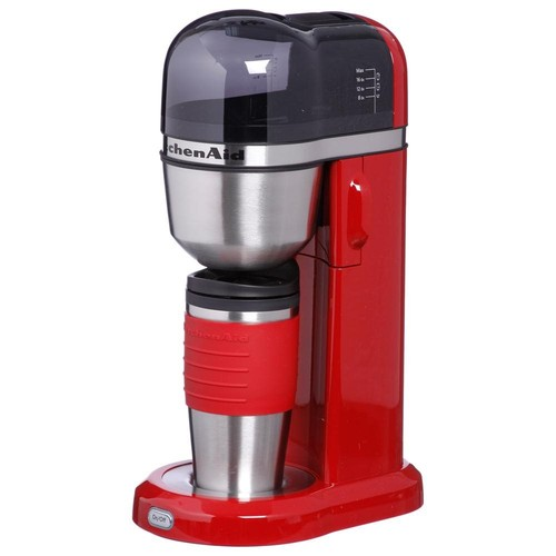 KitchenAid KCM0402ER Coffee Maker, Empire Red [Empire Red]