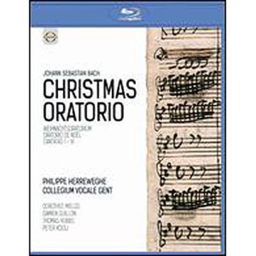 Philippe Herreweghe/Collegium Vocale Gent: Johann Sebastian Bach - Christmas Oratorio [Blu-ray]