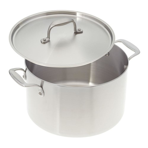American Kitchen 8 Qt. Premium Stainless Steel Stock Pot with Cover