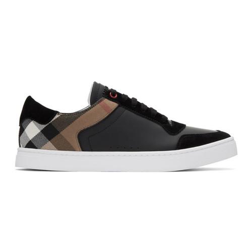 BURBERRY Black Reeth Sneakers