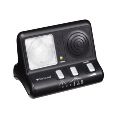 ClearSounds ClearRing Amplified Phone Ring Signaler (CS-CR200)