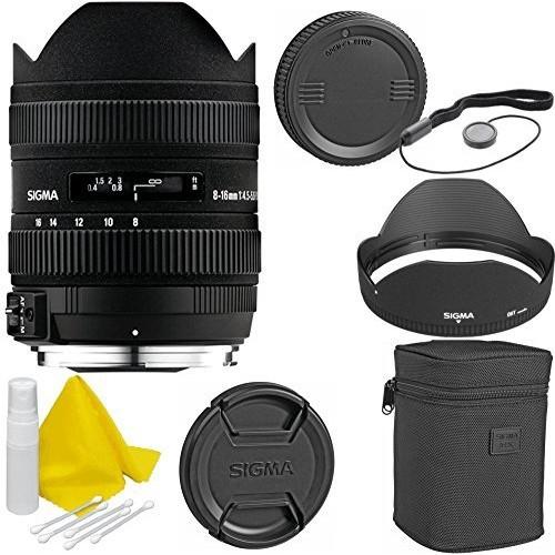 Sigma 8-16mm f/4.5-5.6 DC HSM Ultra Wide Lens for Nikon Cameras