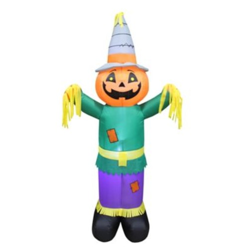 The Holiday Aisle Halloween Scarecrow Inflatable