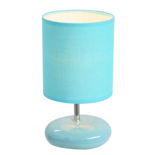 Simple Designs Stonies Bedside Table Lamp, 10 1/2