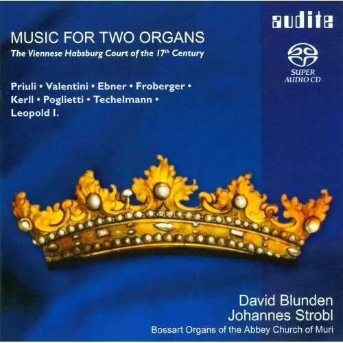 Music For Two Organs CD (2012)
