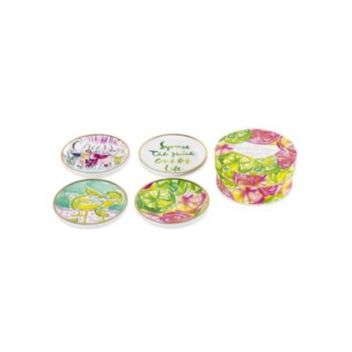 Cheers Ceramic Coaster Set