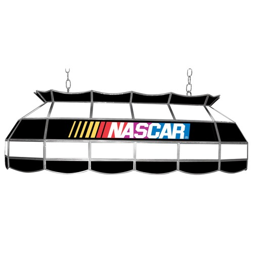 NASCAR Logo 40 inch Stained Glass Tiffany Style Lamp